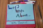 Fiscal Sponsor Spotlight: Let's Write About...